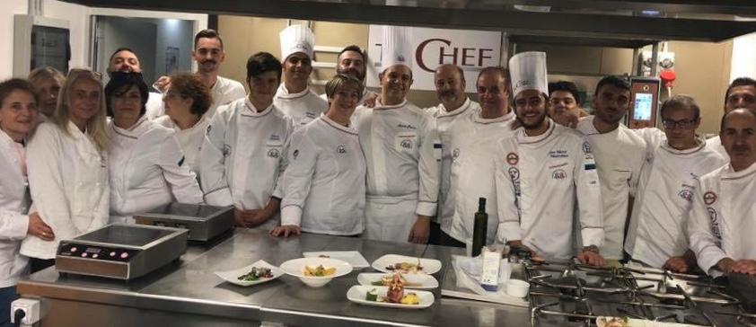 Terrina Di Sgombro Con Gambero Rosso E Zucchine Al Corso Di Alta Formazione A Roma Parola Di Chef